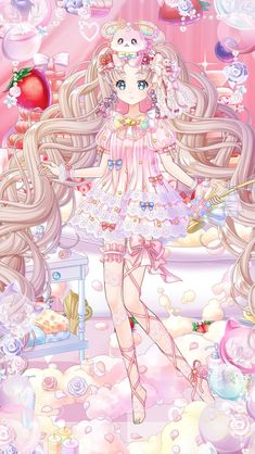 Cute Anime Chibi, Cute Anime Pics, Anime Girl Cute, Beautiful Anime Girl, Kawaii Anime Girl, Anime Angel Girl, Manga Anime Girl, Anime Girl Drawings, Kawaii Drawings