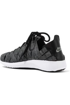 8fb8abc4afbc Nike - Juvenate Premium faux textured leather-trimmed woven sneakers