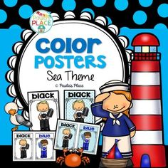 Color Posters - Sea Theme