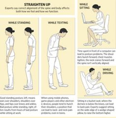 How Bad Sitting Posture at Work Leads to Bad Standing Posture All the Time - WSJ