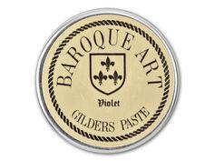 Gilders Paste Baroque-Art 27ml/.9 oz - Violet