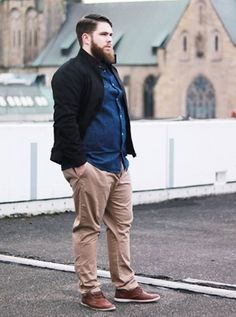 45 Tested Fashion Outfits for Heavy Men - Machovibes Chubby Men Fashion, Large Men Fashion, Mens Fashion, Casual Big And Tall, Big And Tall Style, Outfits For Big Men, Business Attire For Men, Men Dress Up, Boys Clothes Style