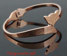 Rose gold fox fox spirit bracelets bracelets by Vintagewatchesmall, $10.99