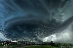 Epic South Dakota supercell near Blackhawk on June 1st 2015.