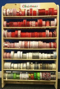 Christmas collection. S.E.Simon's, Berties Bows & May Arts ribbons at Craft, Hobby & Stitch CHSI ExCel London 2014 and Birmingham NEC