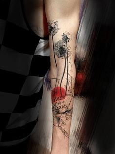 Dandelion Tattoos - 45 Dandelion Tattoo Designs for Women