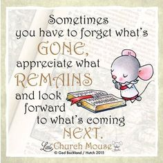 Don't let your past define your future. Please 'like' and 'share' to help spread the LCM message! #LittleChurchMouse