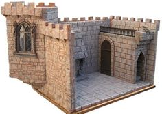mini ramblings and musings: Lets Build a Castle out of Builders Foam...