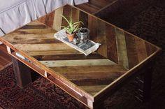 DIY Pallet Coffee Table by sharlene