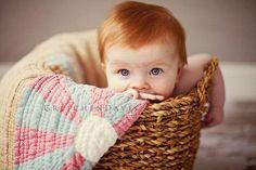 Baby Girl Blue Eyes Redheads 38 New Ideas Precious Children, Beautiful Children, Beautiful Babies, Beautiful Eyes, Baby Pictures, Baby Photos, Little People, Little Ones, Cute Kids