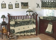 Camo baby bedding crib sets uflage baby bedding baby crib bedding sweet designs green and brown military baby boy bedding blue camo baby bedding crib sets Camo Nursery, Baby Nursery Themes, Nursery Crib, Nursery Ideas, Babies Nursery, Nursery Decor, Baby Theme, Project Nursery, Bedroom Ideas