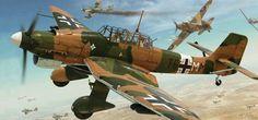 Stuka Trop, Libia 1941