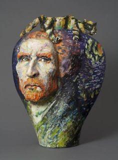 """Saatchi Art Artist Noi Volkov; Sculpture, """"Van Gogh/Picasso"""" #art"""