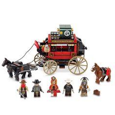 LEGO® 'Lone Ranger' Stagecoach Escape 279-Piece Set