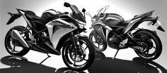 2011 Honda CBR250R Two Sides Sketch