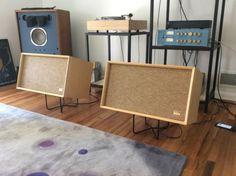 Vintage-CEAN-Electro-Voice-EV-E-V-Four-Speaker-Pair-Gorgeous