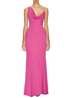 Aislin Stretch Crepe Gown from Wedding Guest: Black Tie on Gilt