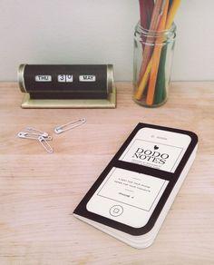 Dodocase dodo notes iphone case