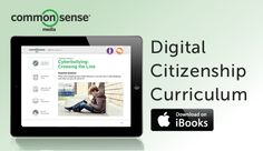 Announcing Our Free iBooks Textbooks! The Digital Literacy and Citizenship Curriculum you know and love now fits in the palm of your hand.