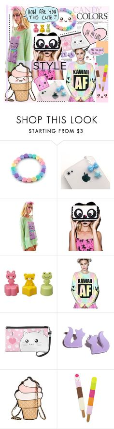 """""""Kawaii"""" by cutandpaste ❤ liked on Polyvore featuring Wildfox, Irregular Choice, MYVL and Toast"""