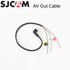SJCAM Micro USB To AV Out Cable For SJ CAM SJ4000 / SJ5000 / SJ5000X Elite / M10 Sports Action Camera FPV Video Audio Cable -  Compare Best Price for SJCAM Micro USB to AV Out Cable for SJ CAM SJ4000 / SJ5000 / SJ5000X Elite / M10 Sports Action Camera FPV Video Audio Cable product. This Online shop give you the discount of finest and low cost which integrated super save shipping for SJCAM Micro USB to AV Out Cable for SJ CAM SJ4000 / SJ5000 / SJ5000X Elite / M10 Sports Action Camera FPV…