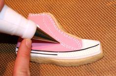 tutorial sapatilha