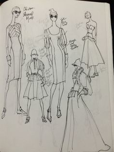 Design Sketches from my Sketchbook Fall 2014 (Renaldo Barnette)