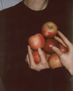 """""""Here, I found an apple orchard in the country.  There's lots of trees filled with bright red apples.  Look at them!""""  The protector said with a smile, Glitch smiled back at her.""""  This is great, this is plenty.""""  He says, and holds the bag open for her."""