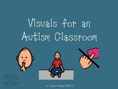 Children with autism struggle with expressive and receptive language abilities. Visuals are an essential tool to help students with autism understand their environment and express their wants and needs. by theautismhelper.com
