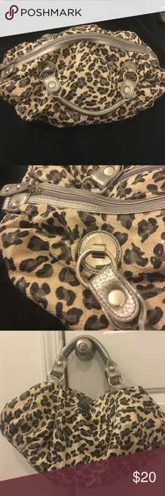 """New Without tags - Cute animal print purse New Without tags - Cute animal print purse; light weight; nice silver hardware; approx 18"""" long with great storage capacity Bags"""