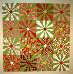 Sujata's Christmas Quilt