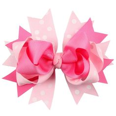 Polka Dot Hair Bows
