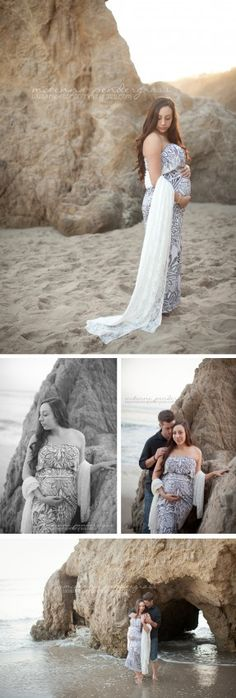 Whimsical Beach Maternity Photos   >> McKenna Pendergrass Photography