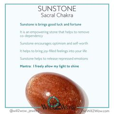 Crystal Healing with Sunstone