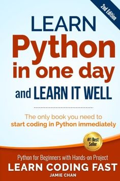 Learn Python in One Day and Learn It Well (2nd Edition): ... This is is a great book! It was just through interest that I wanted to learn a programing language. I travel quite a lot and wanted something to learn while away, l installed python and a text editor on a Windows tablet, the book gives good instruction on how to do this. The title is a bit adventurous, unless your a genius; One Day is not not enough, never the less, I was writing my own programs within a couple of weeks.