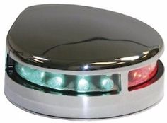 75582 boat-parts BOAT MARINE LED Combination Stainless Steel Bow Light, 12 Volt Low Profile 225°  BUY IT NOW ONLY  $41.95 BOAT MARINE LED Combination Stainless Steel Bow Light, 12 Volt Low Profile 225°...
