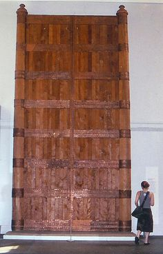 Assyrian palace door. What sort of giant would have passed through this door?