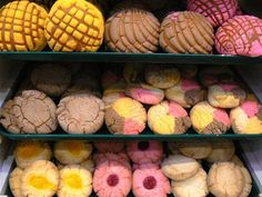 Pan Dulce. (Mexican sweet breads). These pastries come from centuries-old recipes, and the variety is staggering. Just point and smile. Everyone will understand you.