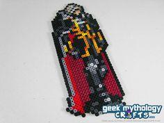 Castlevania Alucard Pixel Bead Sprite by GeekMythologyCrafts, $9.00
