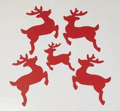 Reindeer cut outs paper reindeers christmas reindeers image 0 #reindeer #reindeercrafts #reindeercutouts #christmas #christmasreindeer #reindeers #reindeerdecor #christmas