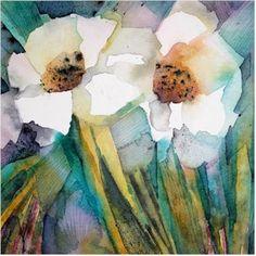 Rose 1, watercolour by Amanda Spencer
