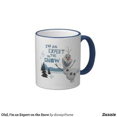 Olaf, I'm an Expert on the Snow Coffee Mugs