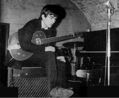 1962 - George Harrison, The Cavern Club.