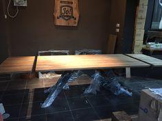 Duży stół 300 na 100 Realizacja pracownia stołów dębowych Bytom. Grzegorz Zamykal 516906907