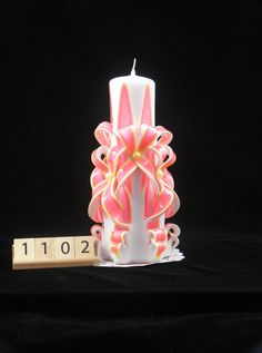 The best Hand Carved Candle, Neon Pink and Neon Yellow, Double Bow Carve, 7 Inch are selling out fast so don't miss this opportunity! https://www.etsy.com/listing/479198432/hand-carved-candle-neon-pink-and-neon?utm_source=socialpilotco&utm_medium=api&utm_campaign=api #accessories