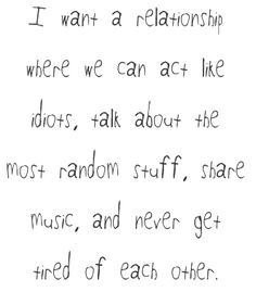 Want A Relationship Tumblr Quotes