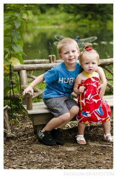 Garden, Child Portraits by Katie Lewis Photography, www.katielewisphoto.com