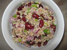 Ryż z tuńczykiem i czerwoną fasolą - Odżywiaj się zdrowo