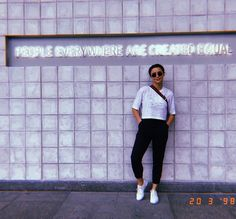#equality =💁🏻♀️ Yassi Pressman, Equality, Garage Doors, Normcore, Outdoor Decor, People, Instagram, Stars, Fashion