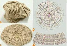 504 Fantastiche Immagini Su Cappelli Alluncinetto Nel 2019 Yarns